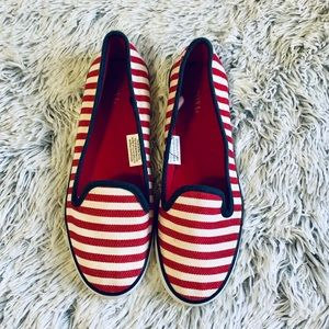 Merona Red White and Blue slip On Shoes